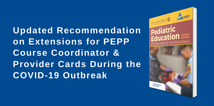 Updated PEPP COVID-19